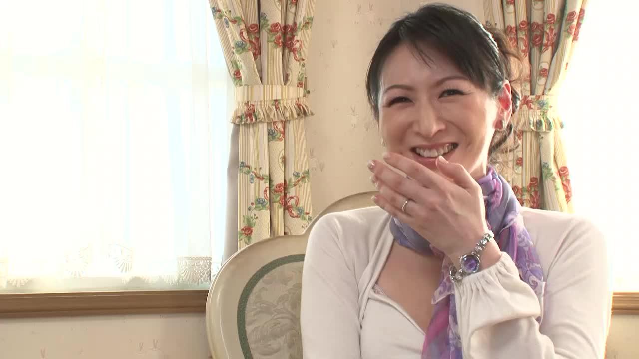【大橋ひとみ】四十路美熟女巨乳人妻のロングインタビュー♪そしてそのまま...