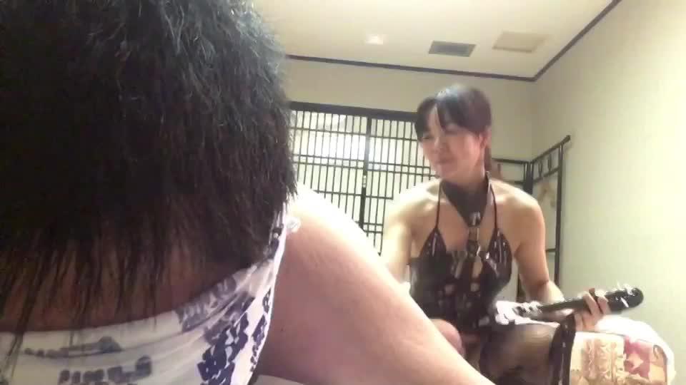 雪乃女王様 初心者M男ちゃんとのプレイ(鞭と蝋燭)