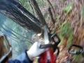 CONTOUR ROAM3で木を伐る様子を撮影してみました7